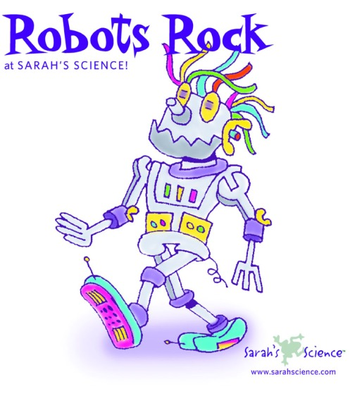 Robot T-Shirt Design